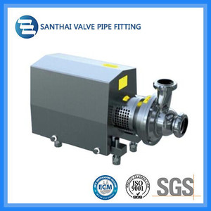 Clamp Union Connection Way Sanitary Stainless Steel Centrifugal Pump