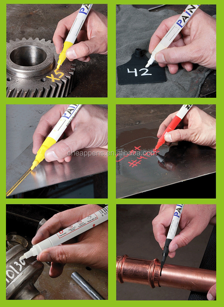 Used For Industrial Car Furniture Oil Based Paint Marker