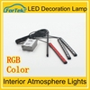 color changing led interior car light 12v Auto Interior Atmosphere Lights