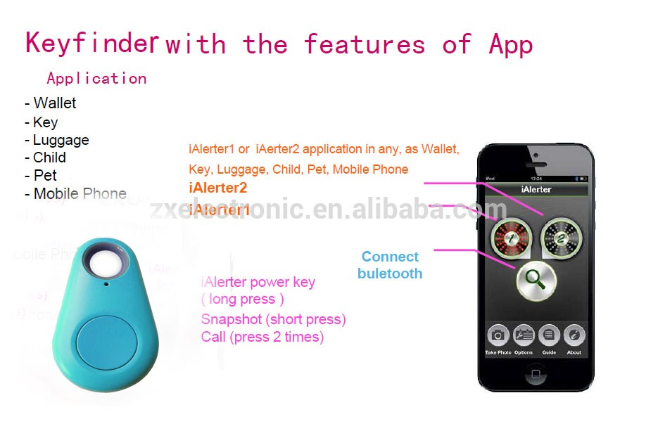 Hot Selling New Type Bluetooth Key Finder Best Buy Gps Tracker