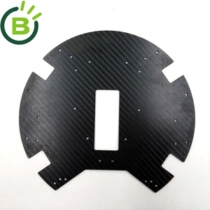BCK0060 New Carbon Fiber sheet price Bodenplatte for AR.Drone Parts and accessories