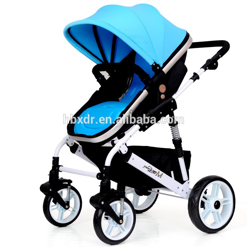 New product aluminum alloy baby carriage
