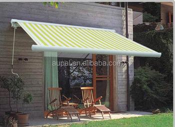 Aluminum Retractable Patio Covers Outdoor Balcony Garden Automatic