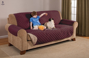 waterproof quilted sofa cover for pet and children