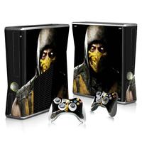 Top grade game sticker for Xbox 360 slim best price skin sticker for Xbox 360 Slim #TN-XB360SLIM-2238