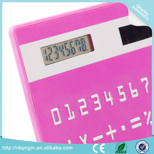 Compact and Light Weight Super Thin Mini Credit Card Shape Calculator