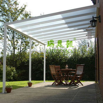 Freesky Transparent Polycarbonate Garden Gazebo