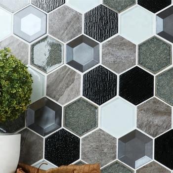 Fliesen design muster for Hintergrund kuche glas