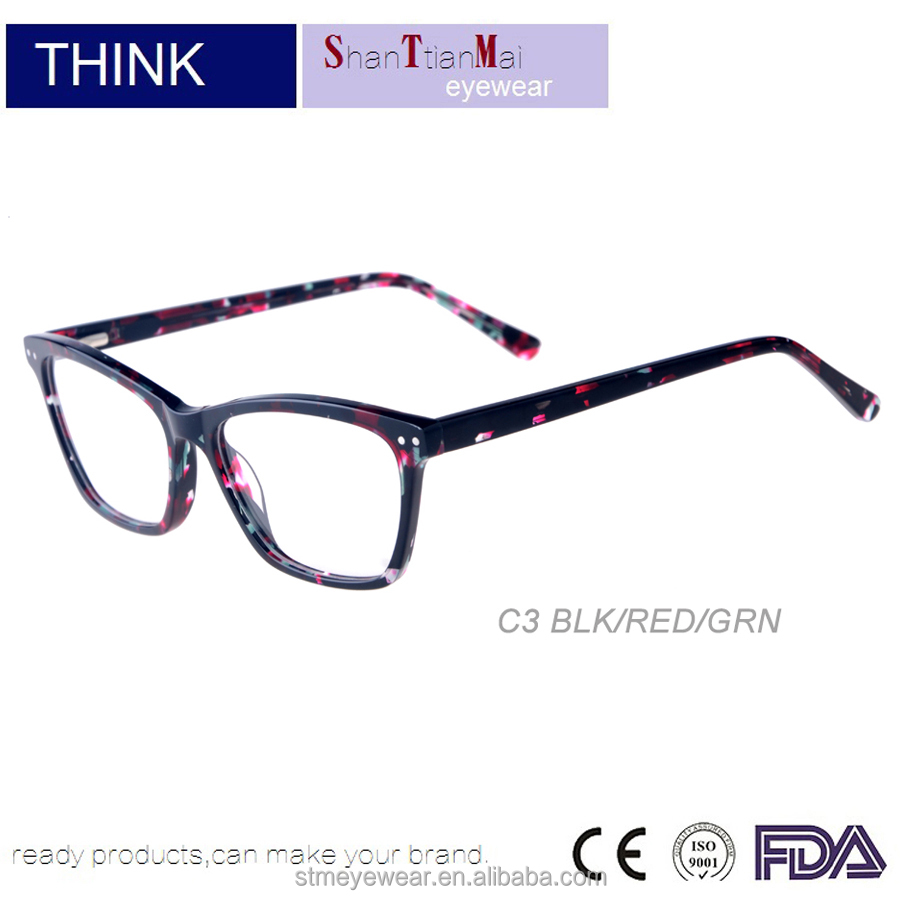 Cheap plastic titanium rimless frame decoration reading glasses