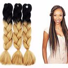 Products About 24inch 100g Jumbo Braiding Hair Synthetic Crochet Box Braids Braiding Factory Wholesales Weave Extensions