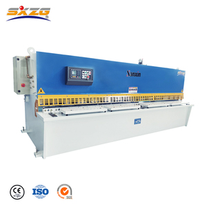 4mm 6mm 8mm 12mmIron Stainless Steel Plate Sheet Electric CNC Metal Hydraulic Shearing Machine Price Used