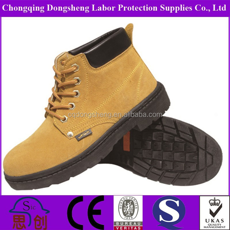 China Qualified Europe Standard En Iso 20345 2013 Safety Shoes ...