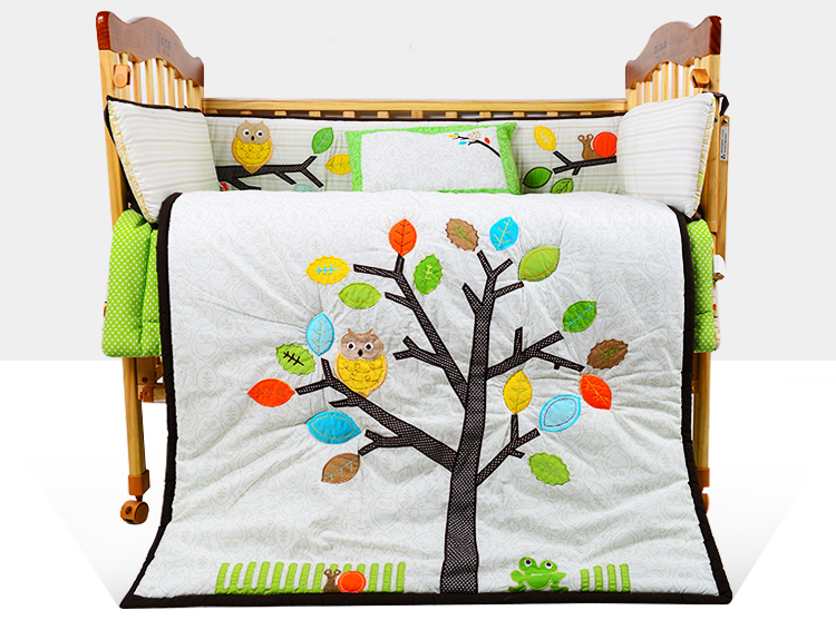 Baby Crib Bedding Sets Baby Cot Bedding Set Embroidery