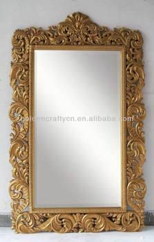 Large decorative floor standing mirror buy large for Large decorative floor mirrors
