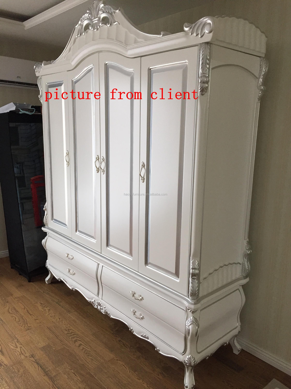 Sm01 Antike Rokoko-schlafzimmer-möbel-bett Bett,Französisch Rokoko ...
