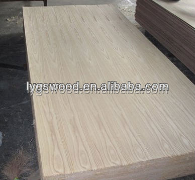 3.2mm Cheap ash veneer Plywood/poplar core for Thailand Market ash PLY