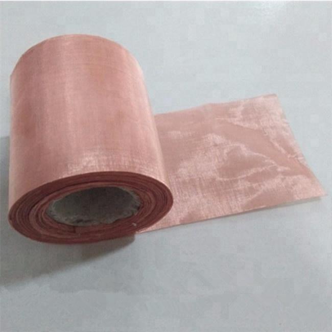 Emf Protection emf shielding 100 150 180 200 Mesh Copper Mesh Fabric