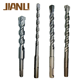 Jianlli sds plus Hammer electric bit double fluteacross/flat tip can be used on bosch drill