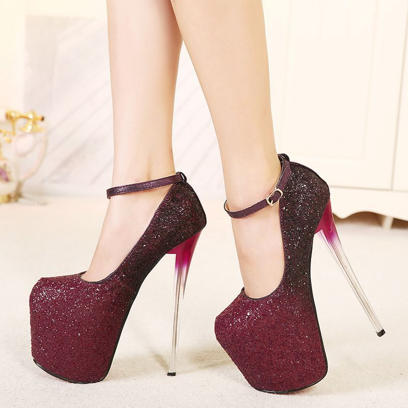 size 40 39fd4 2c26d silver glitter red bottom shoes