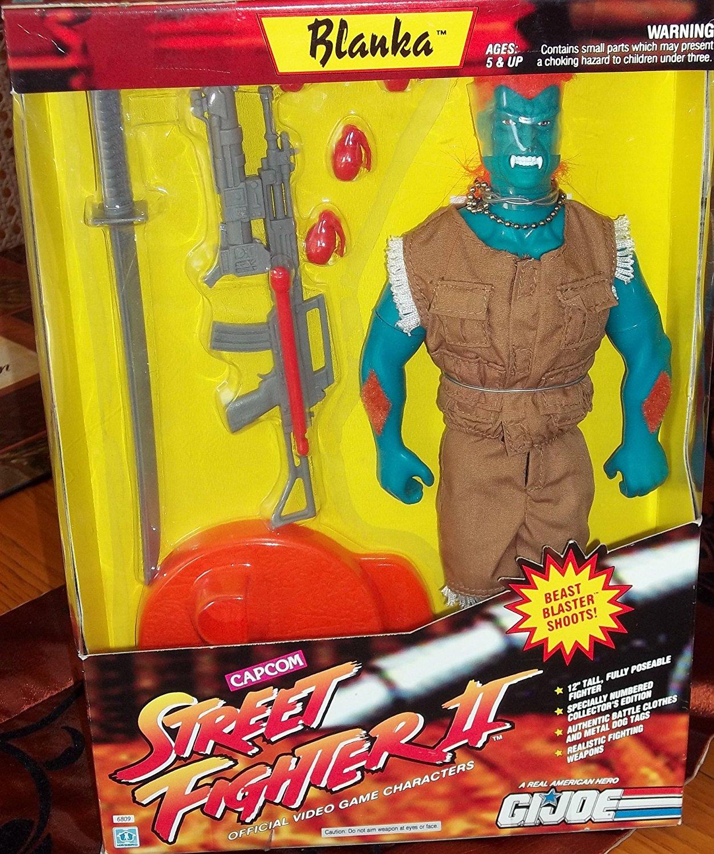 GI Joe Street Fighter II Edition 12 inch Blanka Action Figure
