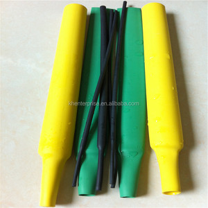 Single wall shrinkable cable sleeving
