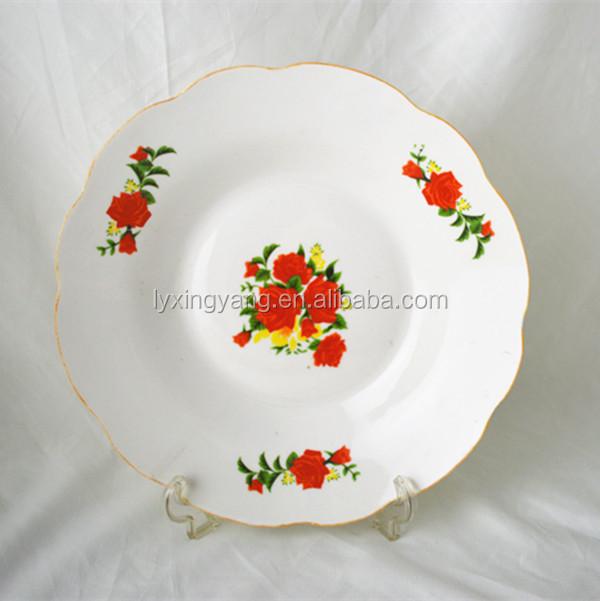Cheap Ceramic Decals Dinner Plate,Cheap Bulk Dinner Plates,Cheap ...