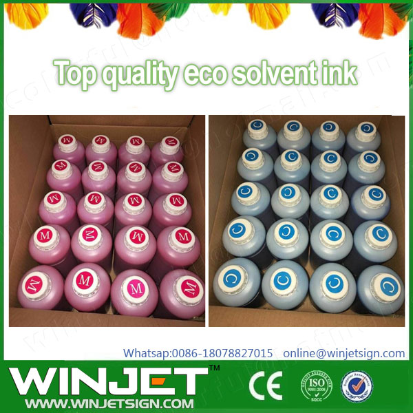Good supplier indoor original digital water based inkjet printing Encade Novajet 750 Dye ink