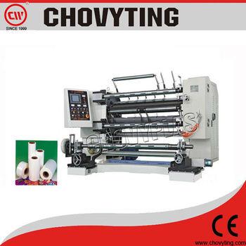 slitting and rewinding machine