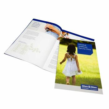 Catalog book magazine brochure online printing services