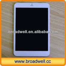 High quality 7.85 inch IPS Screen MTK8389 Quad Core GPS Bluetooth 3G made in china competitive price tablet pc