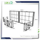 20ft portable pop up backdrop display wall stand with counter