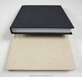 Wedding Album Fabric Linen Cover Photo Album Custom Made Album