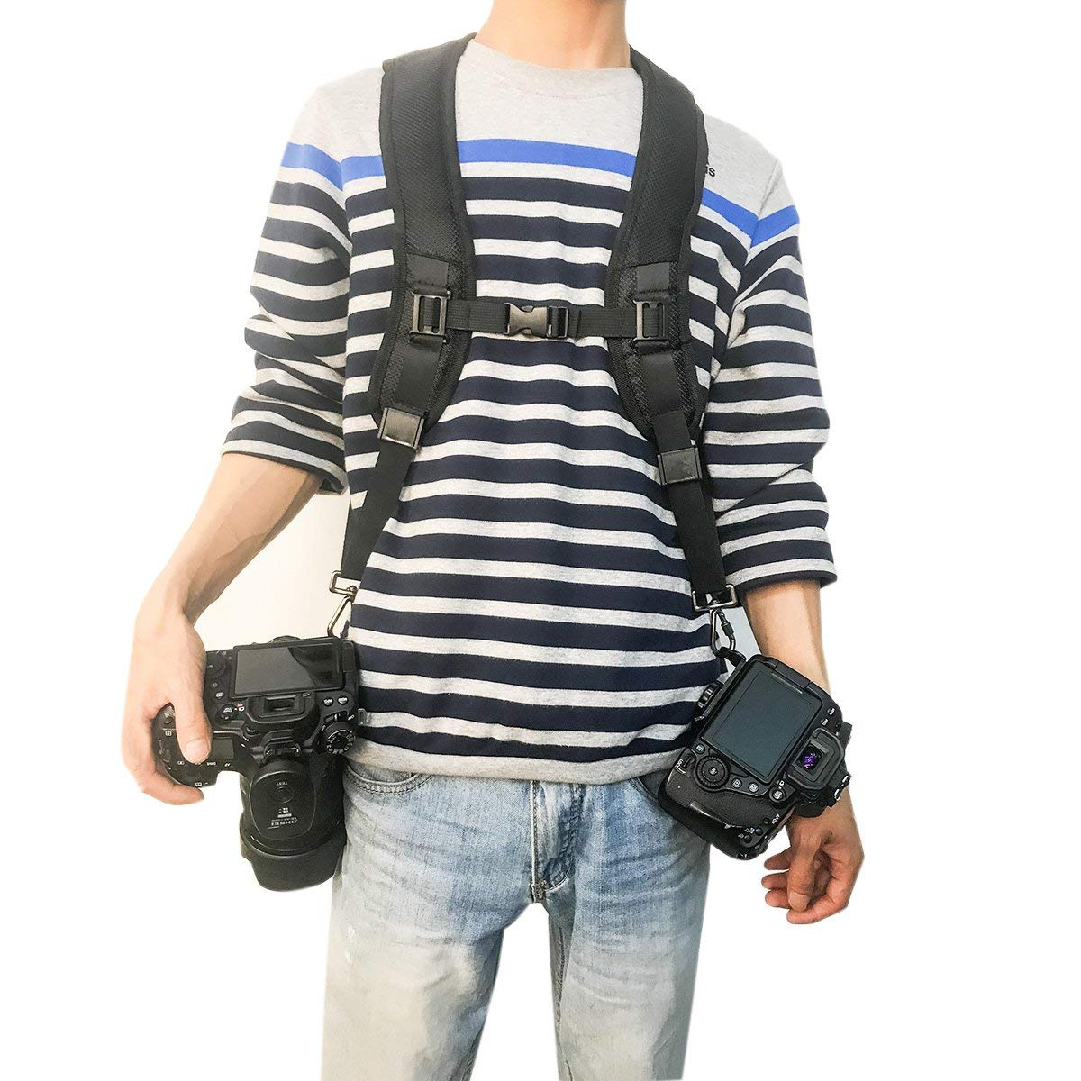 Posher FL6 Professional Camera Strap Quick Rapid Shooting Camera Universal Dual-shoulder Strap Belts Perfect for All DSLR