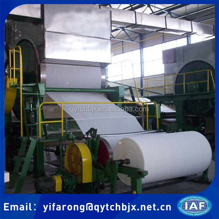 China Tissue Paper Making Machine Price For sale