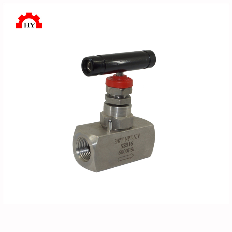 Stainless steel industrial ss316 needle valve