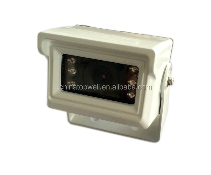 CE & RoHS Approved 6 IR LEDS Night Vision IP68 Waterproof 420 TVL CCD Colour Mini Bus Camera