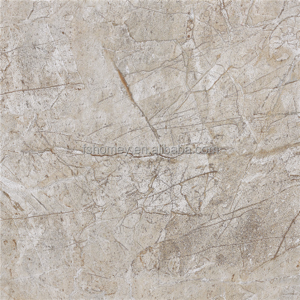 Grey Color Rustic Glazed Porcelain Floor Tiles Look Like Marble For Interior Decorative Wall Stone Panels