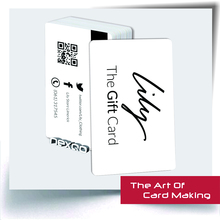 Fashionable wholesale Clear CR80 PVC Loyalty Card System With Chip