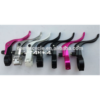 Colorful Alloy Bike Brake Lever For Fixed Gear Bike