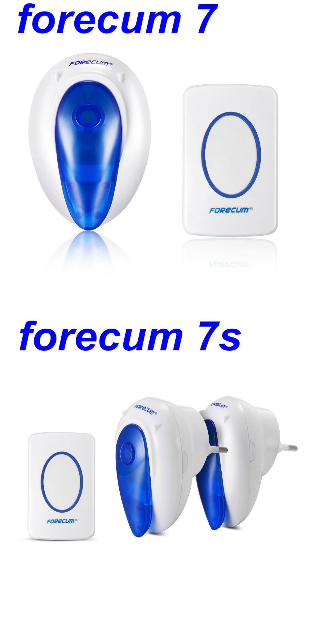 Forecum Brand 300m Wireless Digital Door Chime 36 Melody Ac/dc ...