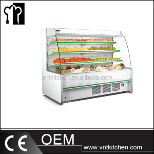 Supermarket Refrigeration Fruit Display Cabinet