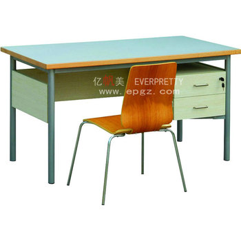 Surprising School New Wood Teachers Table And Chair With Drawers For Guangzhou School Furniture Buy School Teacher Table Design Cheap Wood Table And Squirreltailoven Fun Painted Chair Ideas Images Squirreltailovenorg