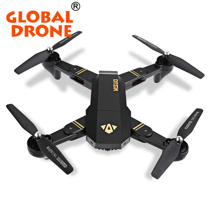 Toys & Hobbies Tianqu Visuo Xs809hw Foldable Drone Wifi Helicopter 480p 0.3mp Angle Camera Rc Model Vehicles & Kits