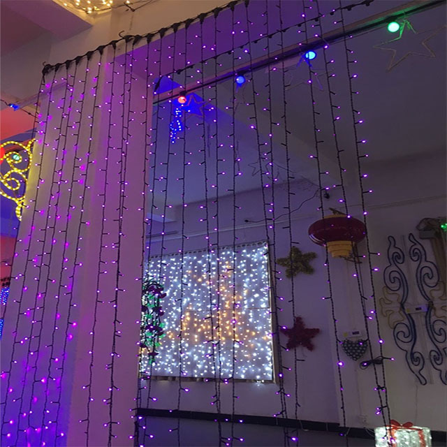 Christmas Decoration Led Waterfall Lights Curtain Light Curtian Waterfull Decorations Product On