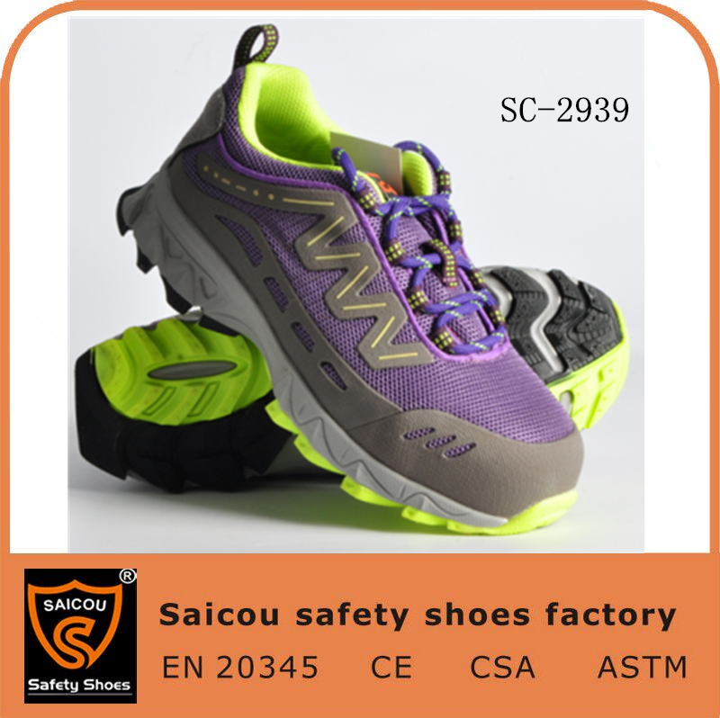 cheap high quality breathable flexible woodland safety shoes and ce certified safety shoes cover for visitor SC-2939