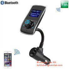 Hot Selling multifunction solar power handsfree bluetooh car kit with best design