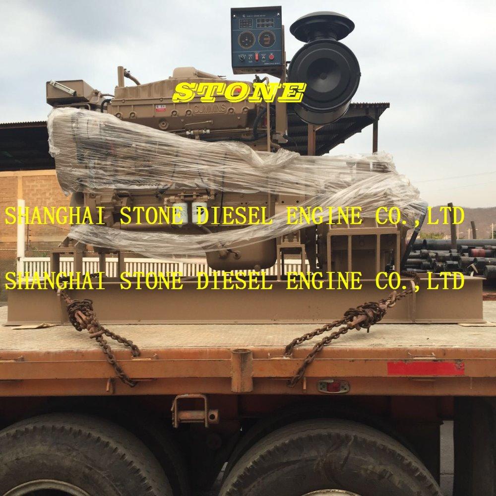 Marine diesel engine with gearbox CUMMINS NTA855, View Marine diesel engine  with gearbox, CUMMINS Product Details from Shanghai Stone Diesel Engine  Co., ...
