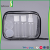Wholesale Mini containers set 5pcs travel accessories airline approved travel cosmetic bottle kit for makeup
