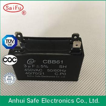 Cbb61 Capacitor For Spilt Air Conditioner Compressor,Run Capacitor,Ceiling on