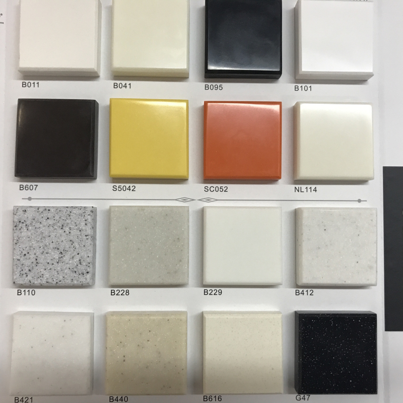 China corian solid surface artificial stone wholesale
